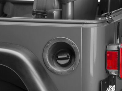 Omix-ADA Non-Vented Gas Cap - Non-Locking (91-00 Jeep Wrangler YJ & TJ)