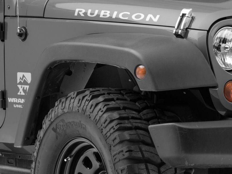 Go Rhino Front Wheel Well Inner Fender Liners (07-18 Jeep Wrangler JK)