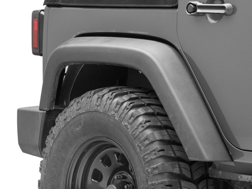 Go Rhino Rear Wheel Well Inner Fender Liners (07-18 Jeep Wrangler JK)