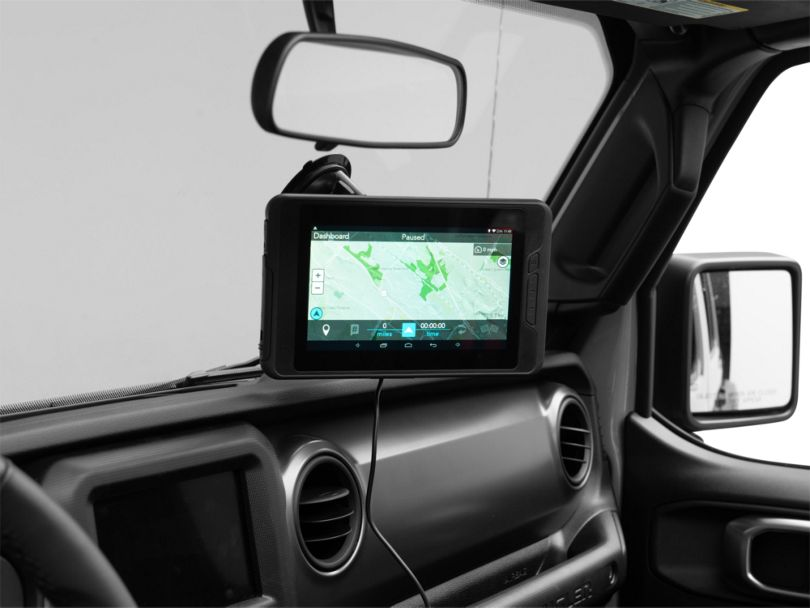 Magellan eXplorist TRX7 CS Off-Road GPS Navigation w/ Camera (87-20 Jeep Wrangler YJ, TJ, JK & JL)