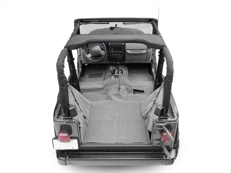 Rugged Ridge Deluxe Complete Carpet Kit - Gray (97-06 Jeep Wrangler TJ)