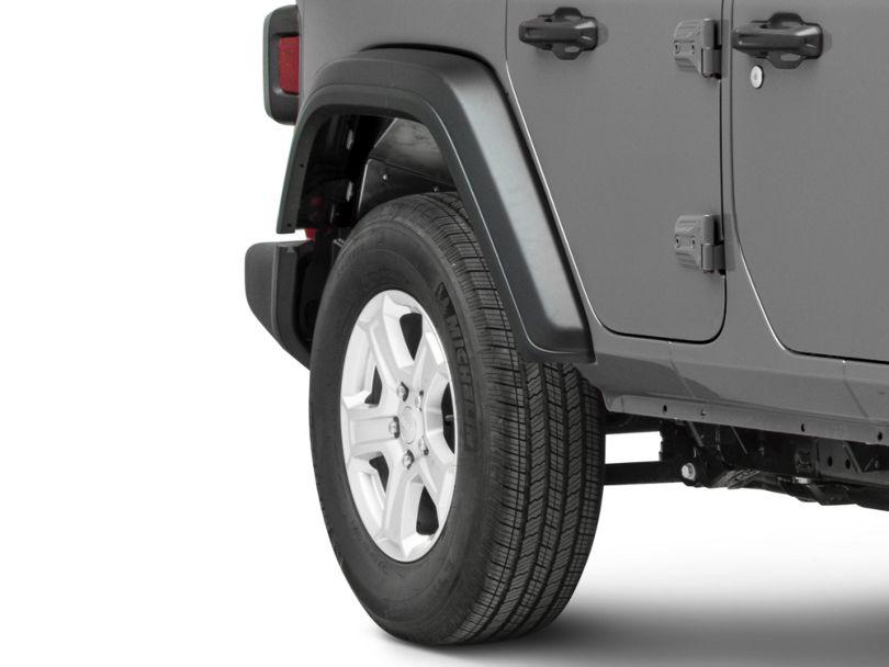 DV8 Off-Road Rear Aluminum Inner Fenders - Raw (18-20 Jeep Wrangler JL)