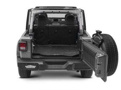 Jeep JL Cargo Liner Black Weatherbeater HUSKY LINERS 20721 18