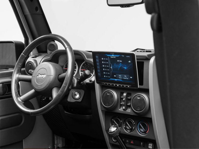 Alpine Halo9 Multimedia Receiver (07-18 Jeep Wrangler JK)