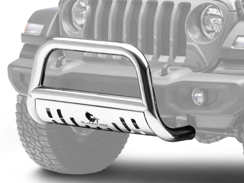 Bull Bar; Stainless Steel (18-20 Jeep Wrangler JL)