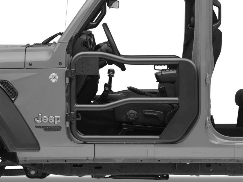 Rugged Ridge Front Tube Doors (18-20 Jeep Wrangler JL)