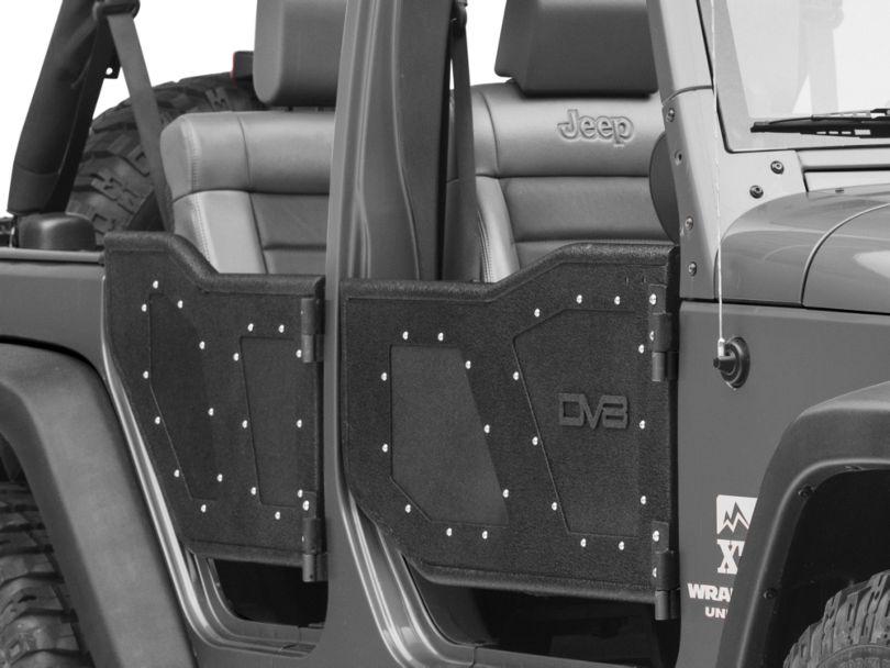 DV8 Off-Road Plated Rock Doors (07-18 Jeep Wrangler JK 4 Door)