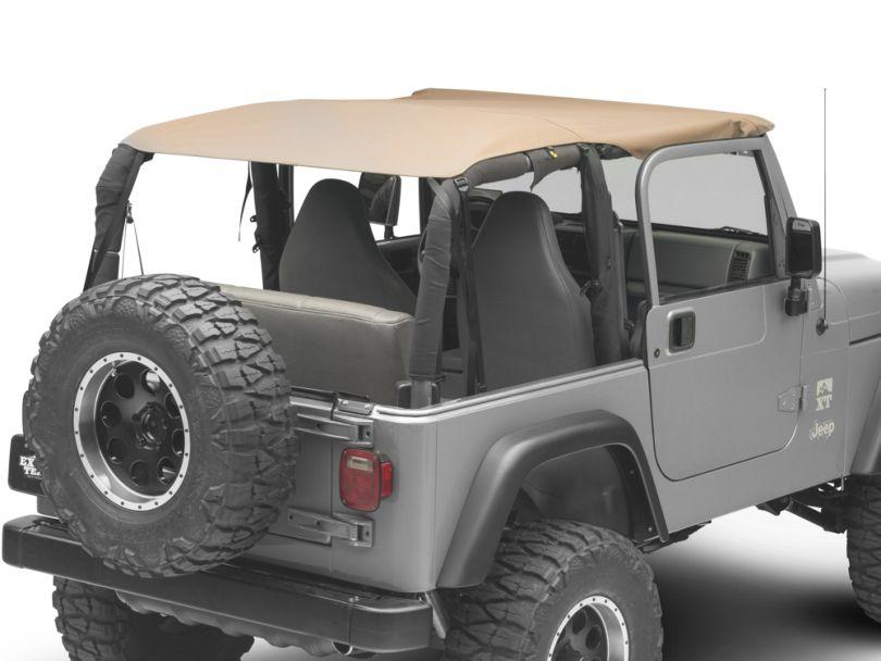 Dark Forest Extended Top - Denim Spice (97-06 Jeep Wrangler TJ)