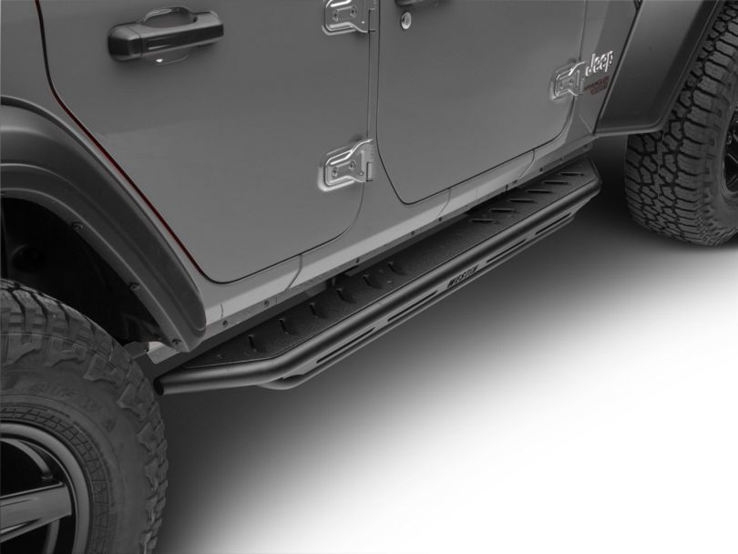 Snyper Triple Tube Rock Rails - Textured Black (18-20 Jeep Wrangler JL 4 Door)