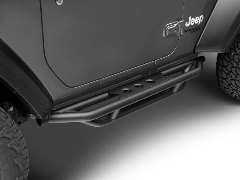 Smittybilt SRC Side Step Bars (18-20 Jeep Wrangler JL 2 Door)