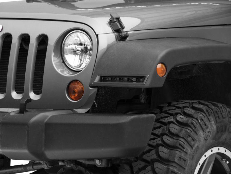 Raxiom JL Style LED Daytime Running Lights (07-18 Jeep Wrangler JK)