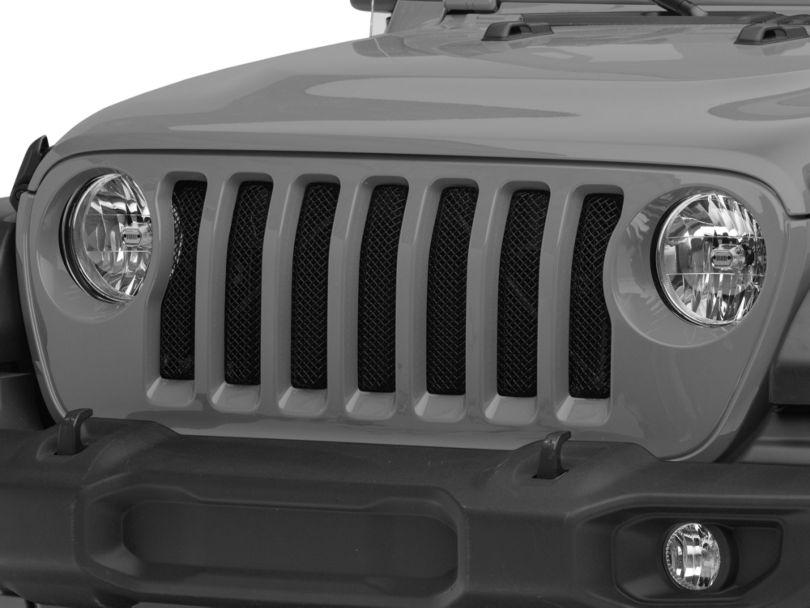 T-REX Sport Series Grille Insert - Black (18-20 Jeep Wrangler JL)