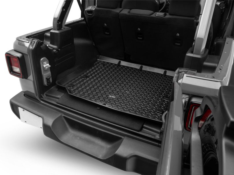 Rugged Ridge All-Terrain Cargo Liner - Black (18-20 Jeep Wrangler JL 4 Door)