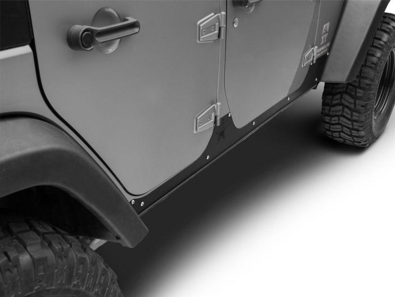 Rock-Slide Engineering Step Slider Rocker Guards (07-18 Jeep Wrangler JK 4 Door)
