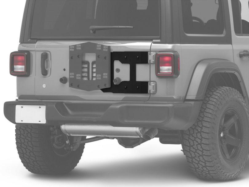 RedRock 4x4 HD Tailgate Reinforcement Panel (18-20 Jeep Wrangler JL)