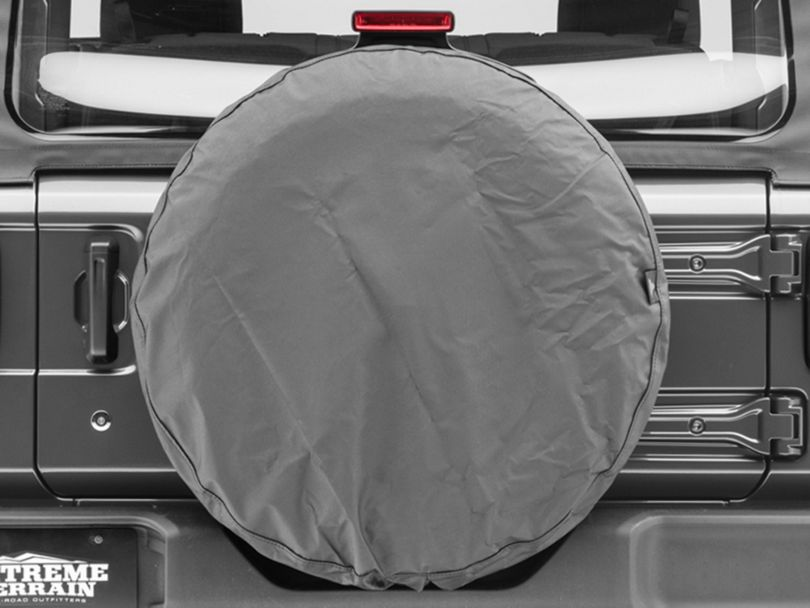 Bestop Spare Tire Cover; Black Diamond (87-20 Jeep Wrangler YJ, TJ, JK & JL)