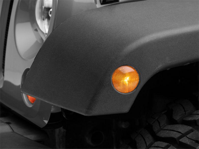 Amber Side Marker Lens; Driver Side (07-18 Jeep Wrangler JK)