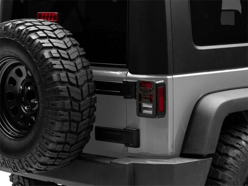 Jeep Tweaks Tail Light Guards - Jeep Wrangler Design (07-18 Jeep Wrangler JK)