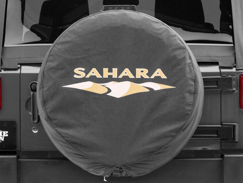 Mopar 32 in. Sahara Design Spare Tire Cover (87-19 Jeep Wrangler YJ, TJ, JK & JL)