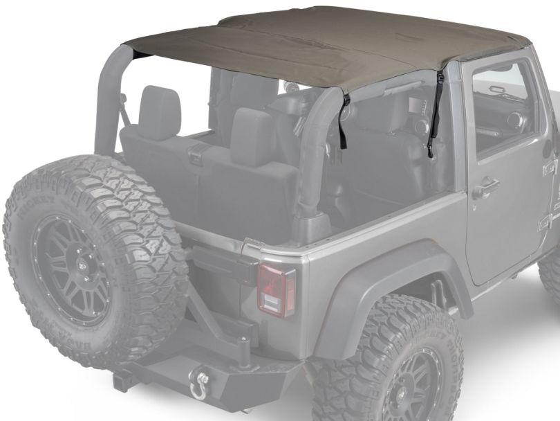 Rugged Ridge Pocket Island Top - Khaki Diamond (07-09 Jeep Wrangler JK 2 Door)