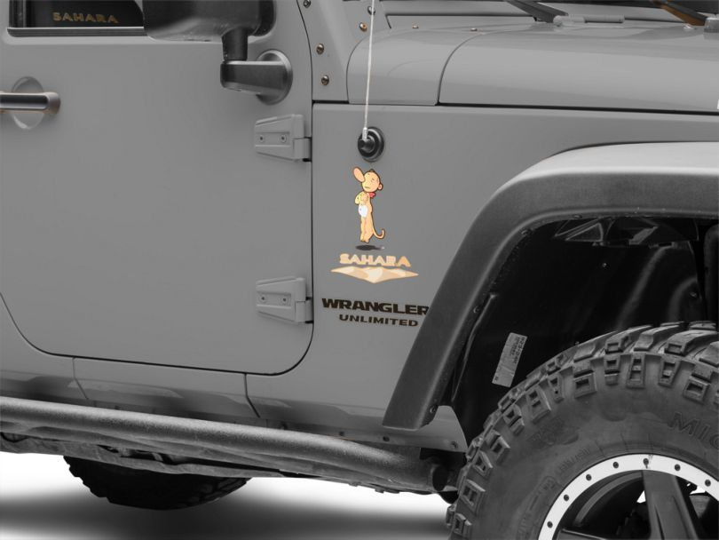 Eugene the Jeep Decal