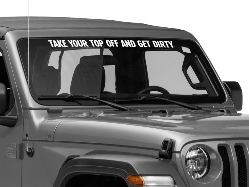 SEC10 Take Your Top Off and Get Dirty Decal