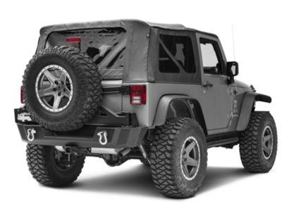 TeraFlex 4997220 JK Third Brake Light Extension Mount Kit for HD Hinged Tire Carrier