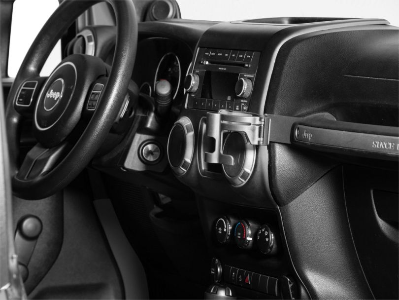 Alterum Grab Handle Cup/Phone Holder (11-18 Jeep Wrangler JK)