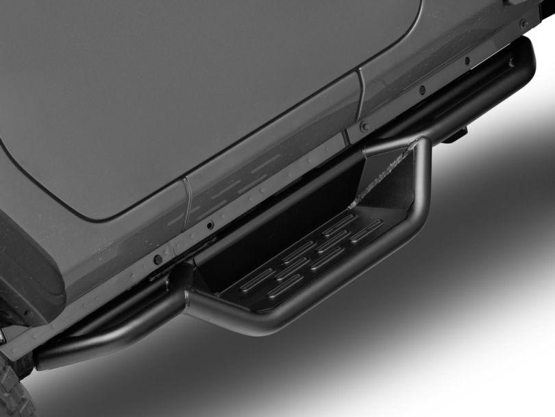 RedRock 4x4 HD Drop Side Step Bars (18-20 Jeep Wrangler JL 2 Door)