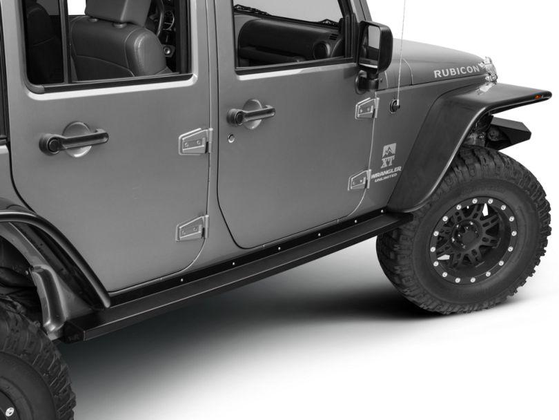 Teraflex RockGuard Rock Slider Steps (07-18 Jeep Wrangler JK 4 Door)