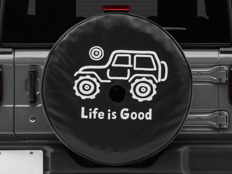Life is Good Native Offroad Spare Tire Cover (18-19 Jeep Wrangler JL)