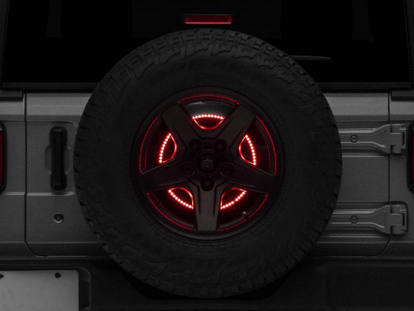 Rugged Ridge Spare Tire Brake Light LED Ring (18-20 Jeep Wrangler JL)