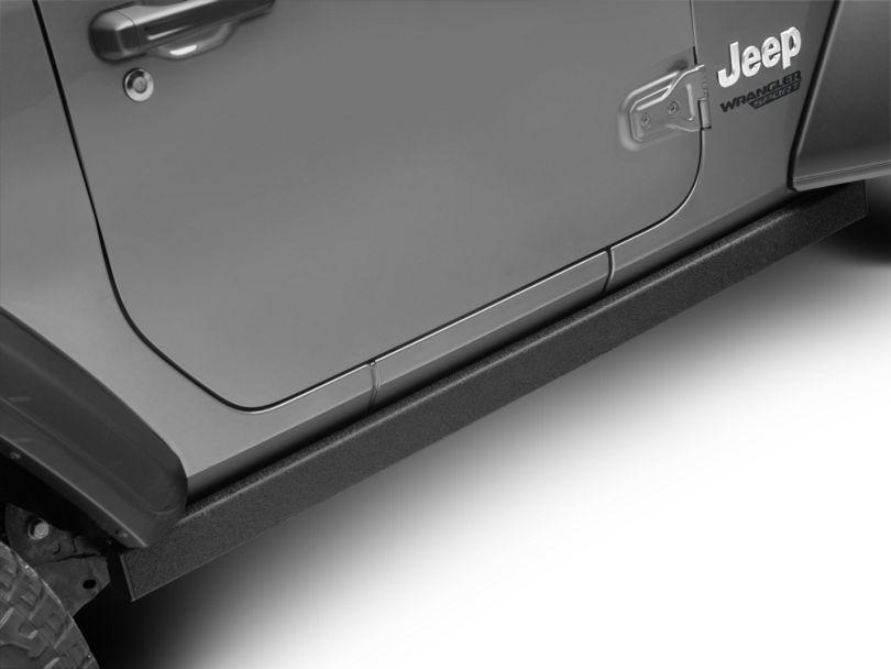 Barricade Rubi Rails - Textured Black (18-20 Jeep Wrangler JL 2 Door)