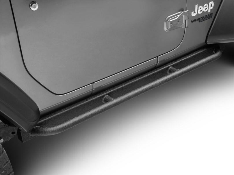 Barricade Enhanced Rubi Rails - Textured Black (18-20 Jeep Wrangler JL 2 Door)