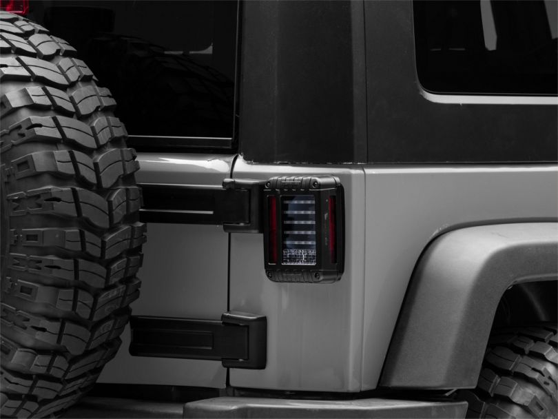 J.W. Speaker Model 279 J Series LED Tail Lights (07-18 Jeep Wrangler JK)