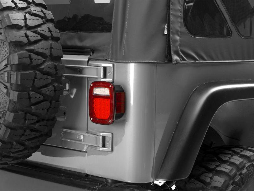 Rugged Ridge Led Tail Light Set (87-06 Jeep Wrangler YJ & TJ)