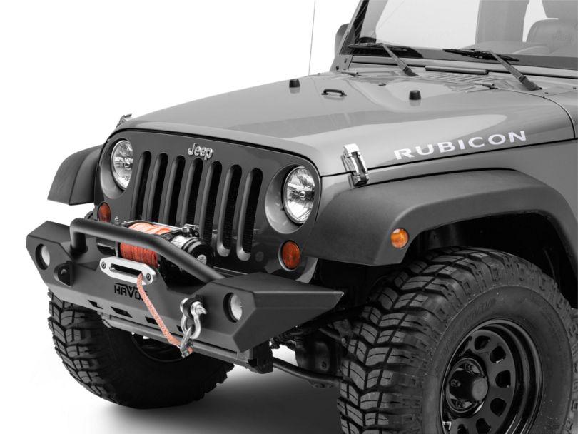 Havoc Offroad GEN 2 Wrecking Ball Full Width Front Bumper (07-18 Jeep Wrangler JK)