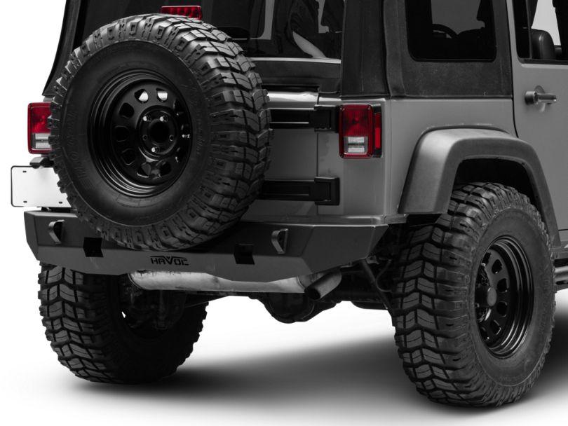 Havoc Offroad GEN 2 Aftershock Rear Bumper w/ Light Cutout (07-18 Jeep Wrangler JK)