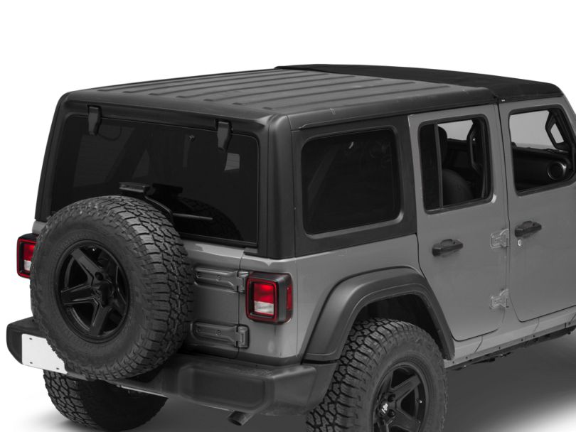 Bestop Sunrider for Factory Hard Tops - Black Twill (18-20 Jeep Wrangler JL)
