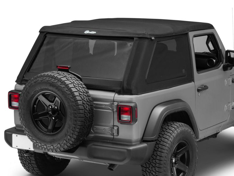 Bestop Trektop NX Soft Top - Black Twill (18-20 Jeep Wrangler JL 2 Door)
