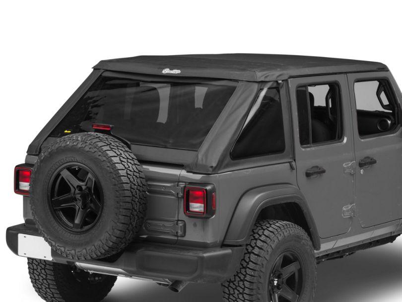 Bestop Trektop NX Soft Top - Black Diamond (18-20 Jeep Wrangler JL 4 Door)