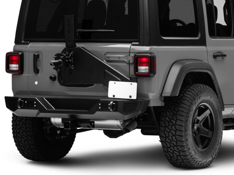 Barricade HD Rear Bumper w/ Tire Carrier (18-20 Jeep Wrangler JL)