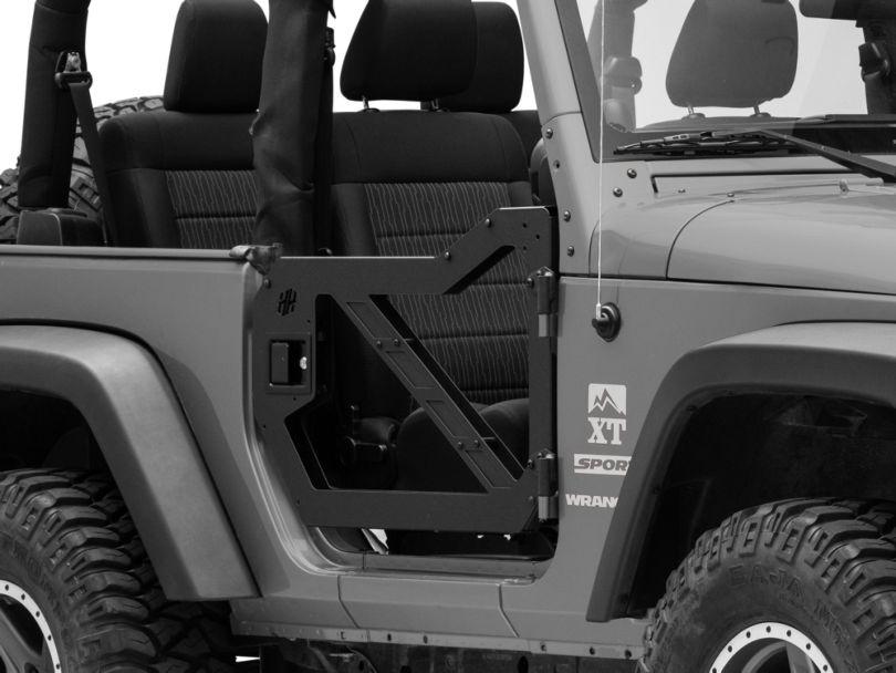 Hammerhead Front Trail Doors (07-18 Jeep Wrangler JK)