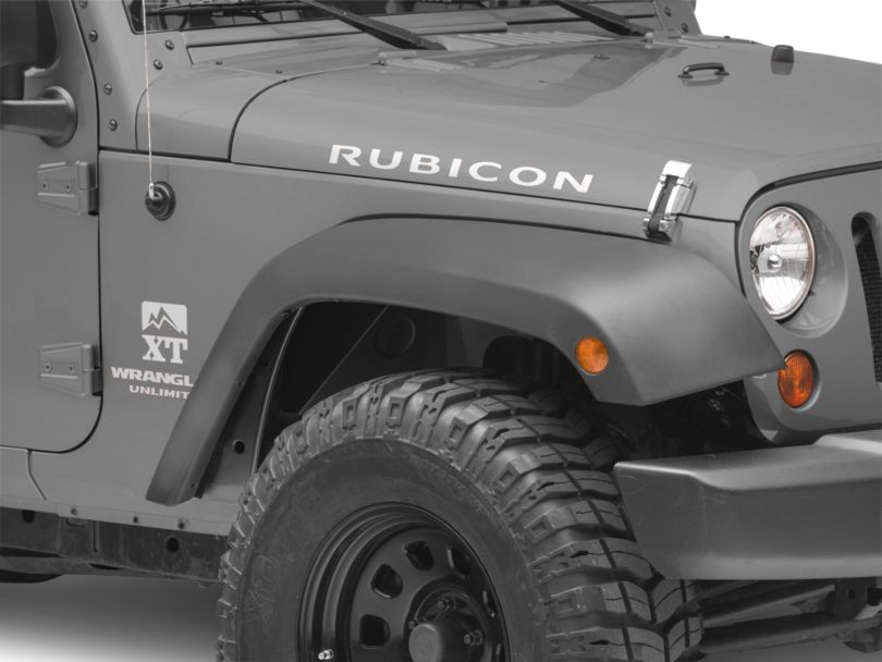 Smittybilt Front Aluminum Inner Fenders (07-18 Jeep Wrangler JK)