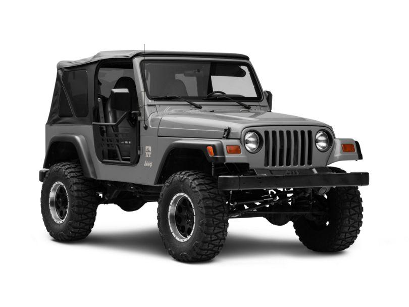 RedRock 4x4 Safari Tracker Doors w/ Mirrors (97-06 Jeep Wrangler TJ)