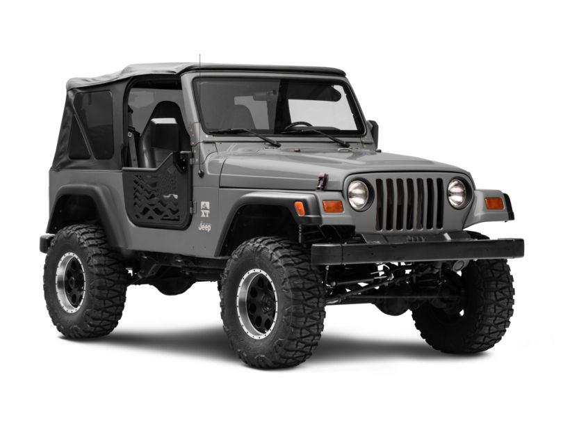 RedRock 4x4 Old Glory Doors w/ Mirrors (97-06 Jeep Wrangler TJ)