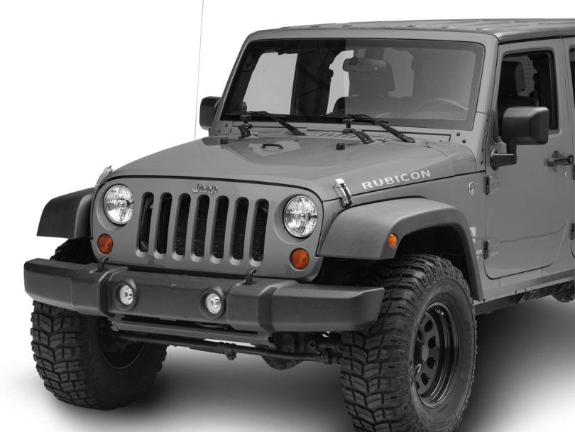 RedRock 4x4 Hi-Lift Jack Hood Mount Bracket (07-18 Jeep Wrangler JK)