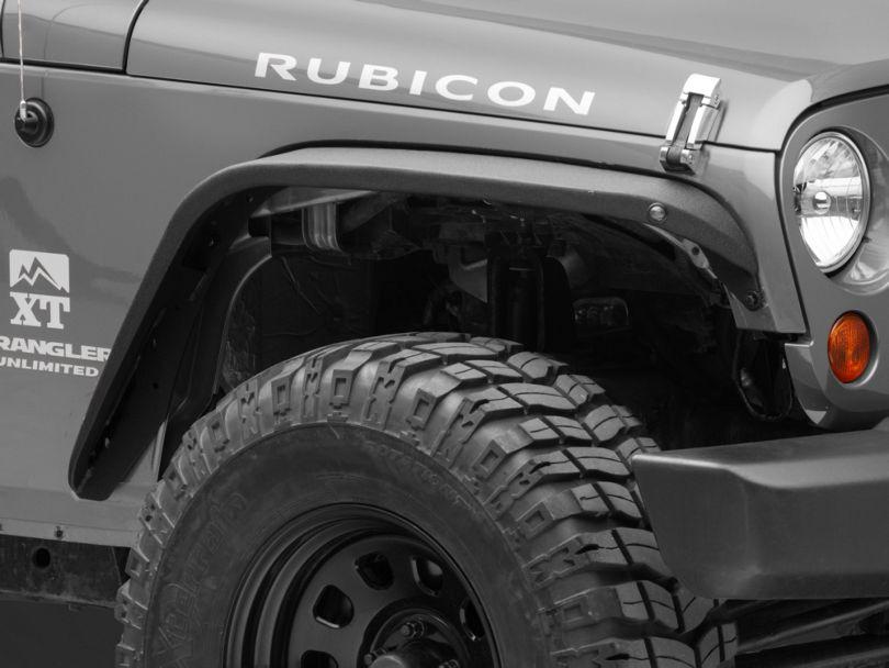 RedRock 4x4 Safari Stubby Front Fender Flares (07-18 Jeep Wrangler JK)