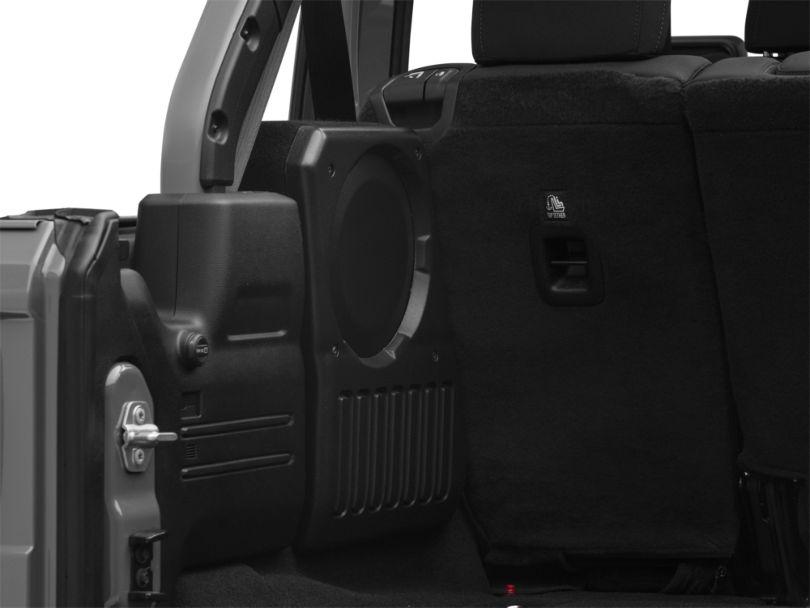 JL Audio Stealthbox; Driver Side (18-20 Jeep Wrangler JL 4 Door)
