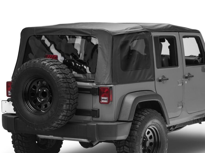 TruShield Replacement Soft Top - Black Diamond (10-18 Jeep Wrangler JK 4 Door)